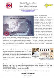CARTA A LOS COFRADES - NAVIDAD 2020