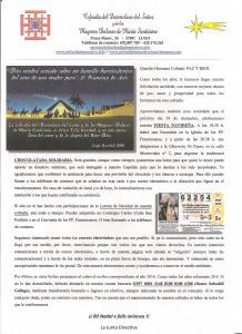 CARTA A LOS COFRADES - NAVIDAD 2016