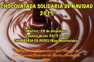 CHOCOLATADA SOLIDARIA DE NAVIDAD