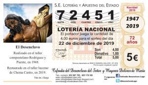 LOTERIA DE NAVIDAD 2019